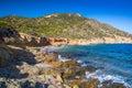 Stunning South coast of Sardinia, Italy. Royalty Free Stock Photo
