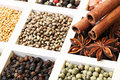 Spice assorted and herbs Royalty Free Stock Images