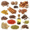 Spice collection Stock Photos