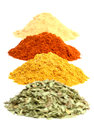 Spice heaps Royalty Free Stock Photography