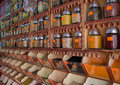 Spice market Stock Photos