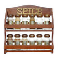Spice Rack Stock Image