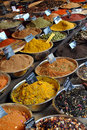 Spice Shop Royalty Free Stock Photos
