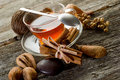 Spiced tea Royalty Free Stock Photography