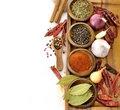 Spices Assortment Stock Images
