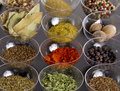 Spices assortment Royalty Free Stock Photos