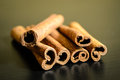 Spices cinnamon sticks Royalty Free Stock Photo