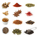Spices Collection Stock Photography