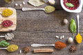 Spices and herbs Royalty Free Stock Photo