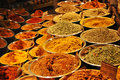 Spices an image of bowls of Stock Images