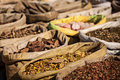 Spices in indian market travel india background various bazaar Royalty Free Stock Photos