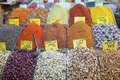 Spices market Royalty Free Stock Photo