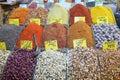 Spices market Royalty Free Stock Photo