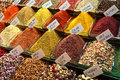 Spices for sale in Istanbul, Turkey Stock Photos