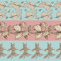Spices seamless pattern collection