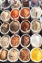Spicies on goa market india april april india Stock Images