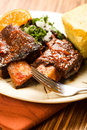 Spicy Braised Beef Ribs Royalty Free Stock Photo
