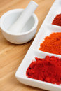Spicy Chili Powder Stock Images