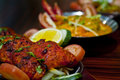 Spicy Indian Food Royalty Free Stock Photos