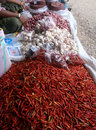 Spicy Market Royalty Free Stock Photography