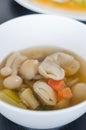 Spicy mushroom soup Royalty Free Stock Photo