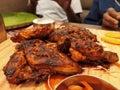 Spicy Peri Peri chicken Royalty Free Stock Photo