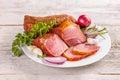 Spicy pork tenderloin Royalty Free Stock Photo
