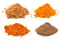 Spicy powders Royalty Free Stock Photo