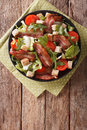 Spicy Salad Of Bacon, Tomato, ...