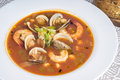 Spicy Seafood Soup #3 Royalty Free Stock Photo