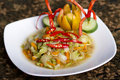 Spicy vegetable dishes Stock Photography