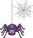 Spider cartoon Royalty Free Stock Photos