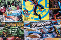 Spider-Man Marvel comics superhero Royalty Free Stock Photo
