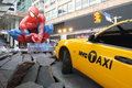 Spider man movie promotion in hong kong Stock Photography