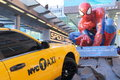 Spider man movie promotion in hong kong Stock Photos