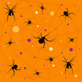 Spider pattern Royalty Free Stock Images