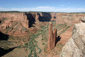 Spider Rock in Canyon de Chelly Royalty Free Stock Photo