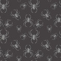 Spider seamless pattern gothic background Royalty Free Stock Photo