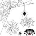 Royalty Free Stock Photo Spider Web Set
