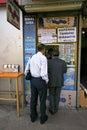 Spiel des Stapels in Istanbul Stockfotografie