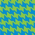 Spiky Zigzag Houndstooth