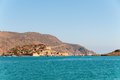 Spinalonga fortress island crete greece Royalty Free Stock Photo