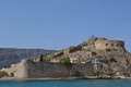 Spinalonga island Royalty Free Stock Photos