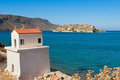 Spinalonga island. Crete, Greece Stock Image