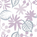 Sping flowers seamless pattern Stock Photography