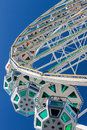 Spinning Ferris Wheel Royalty Free Stock Photo