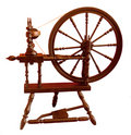 Spinning Wheel Stock Image