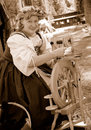 image photo : Spinning Yarn