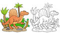 Spinosaurus searches for prey Royalty Free Stock Photo