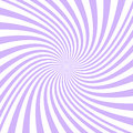 Spiral background from purple and white rays Royalty Free Stock Photo